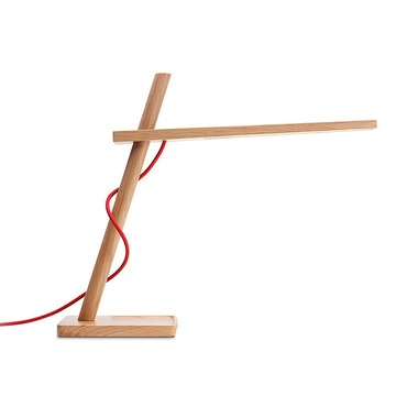 Clamp Mini Table Lamp by Pablo | CLAM MINI WHT OAK