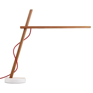 Clamp FS Table Lamp by Pablo | CLAM FS WHT OAK