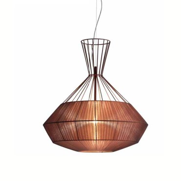 Net Pendant by Lightology Collection | LC-NET S80-BZ