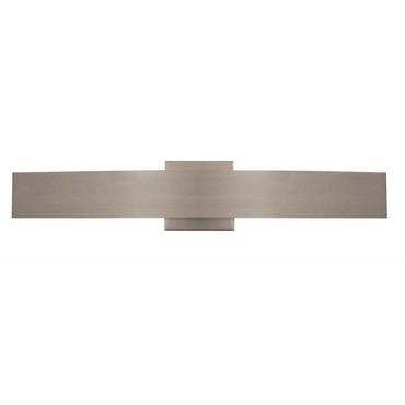 Regal LED Wall Light by PureEdge Lighting | REGAL-L1-27K-SN