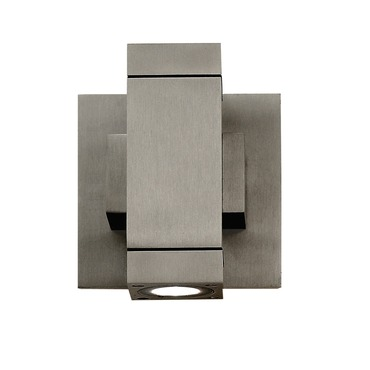 Taos Square ELV Dim LED Wall Sconce by Edge Lighting | TAOS-W-SQ-ELV-SA