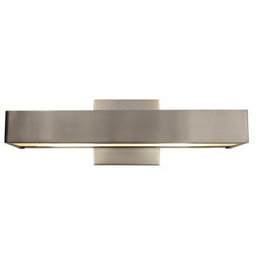 Alpha LED Wall Sconce by Edge Lighting | ALPHA-16-L1-30K-SN