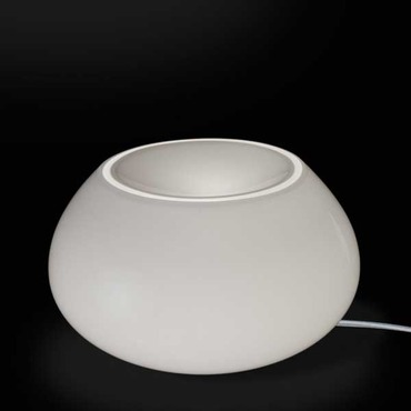 Curling Large Table Lamp by Av Mazzega | TA4105-WH