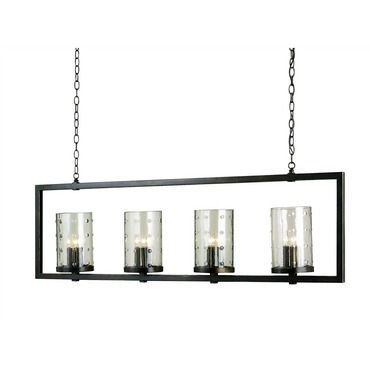 Longhope Linear Suspension by Currey and Company | 9742-CC