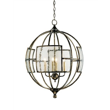 Broxton Orb Chandelier by Currey and Company | 9750-CC