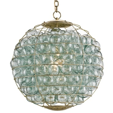 Pastiche Orb Chandelier by Currey and Company | 9395-CC