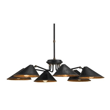 Fainlight Chandelier by Currey and Company | 9308-CC
