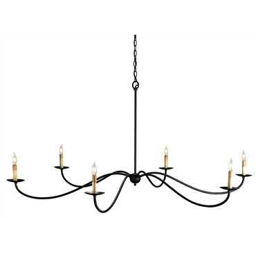 Saxon Chandelier by Currey and Company | 9267-CC