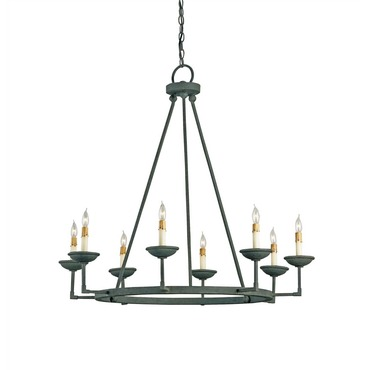 Ormewood Chandelier by Currey and Company | 9670-CC