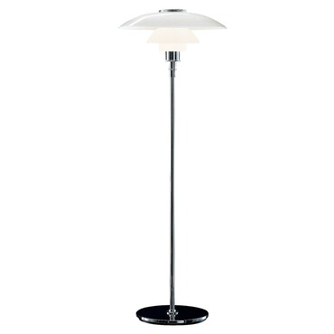 PH 4.5-3.5 Glass Floor Lamp