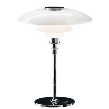PH 4.5 - 3.5 Glass Table Lamp