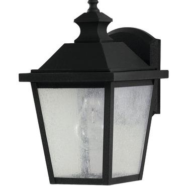 Woodside Hills Small Wall Lantern by Feiss | OL5700BK