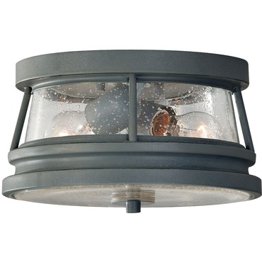 Chelsea Harbor Outdoor Flush Mount by Feiss | FM-OL8113STC