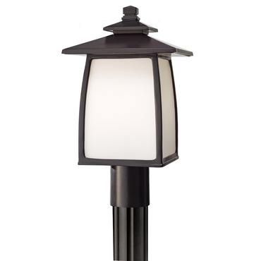 Wright House 9 inch Post Lantern