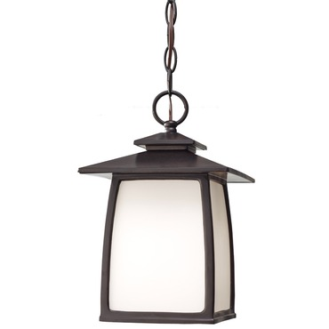 Wright House Outdoor Pendant by Feiss | OL8511ORB