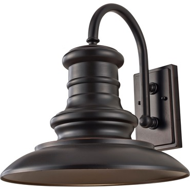 Redding Station Small Outdoor Wall Sconce by Feiss | OL8600RSZ