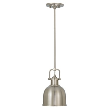 Parker Place Mini Pendant with Metal Shade by Feiss | P1145BS