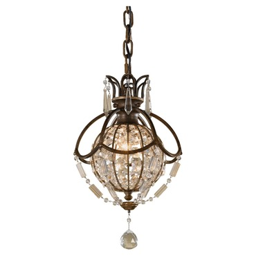 Bellini Pendant by Feiss | P1178OBZ/BRB