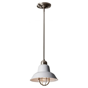 Urban Renewal 1239 Pendant by Feiss | P1239BS/GW
