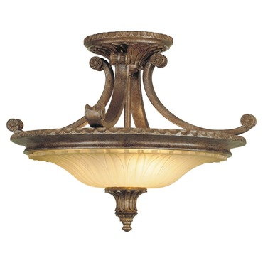 Stirling Castle Semi Flush Mount