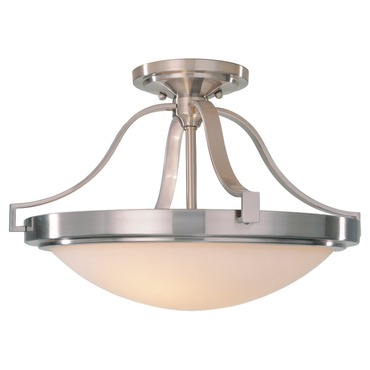 Paris Moderne Semi Flush Mount