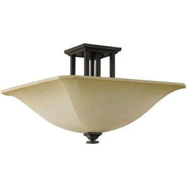 American Four Semi Flush Mount