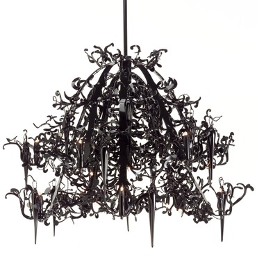 Flower Power Chandelier by Brand Van Egmond | FPC120BLU