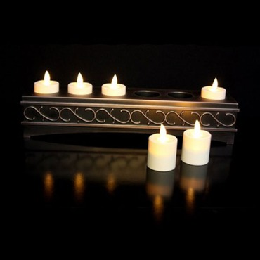 Luminara Flameless Rechargeable Voltive Candles