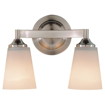 Gravity Bathroom Vanity Light by Feiss | VS9402-BS