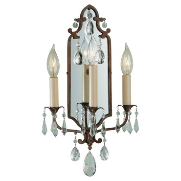 Maison De Ville 3 Light Wall Sconce by Feiss | WB1218BRB