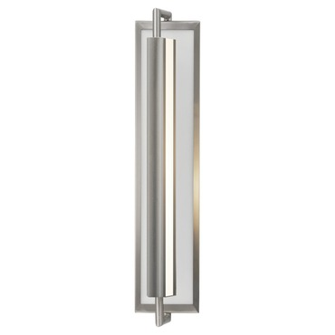 Mila 2 Light Wall Sconce by Feiss | WB1452BS