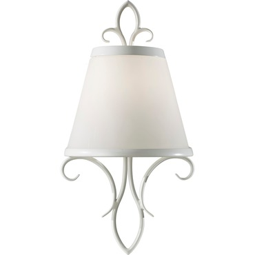 Peyton Saltspray Wall Sconce by Feiss | WB1486SGW