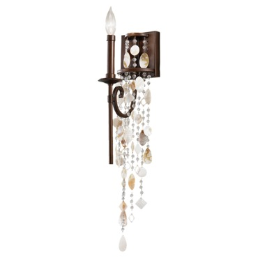 Cascade Wall Sconce by Feiss | WB1570HTBZ