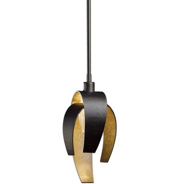 Corona Mini Pendant by Hubbardton Forge   18650-352-07-CTO