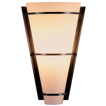 Suspended Half Cone Wall Light by Hubbardton Forge | 206551-07-G59