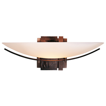 Oval Impressions Wall Light by Hubbardton Forge | 207370-05-G90