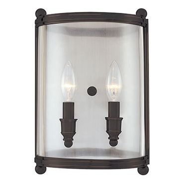 Mansfield Wall Sconce by Hudson Valley Lighting | 1302-DB