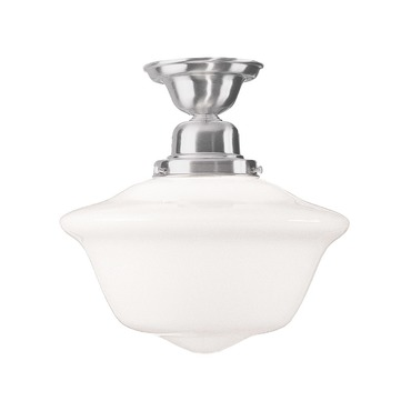 Edison Semi Flush Ceiling Light by Hudson Valley Lighting | 1615F-SN