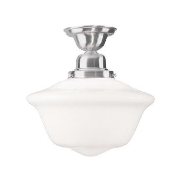 Edison Semi Flush Ceiling Light by Hudson Valley Lighting | 1615F-SN
