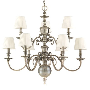 Charleston Chandelier by Hudson Valley Lighting | 1749-HN