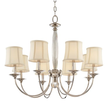 Rockville Chandelier by Hudson Valley Lighting | 1818-PN