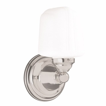 Edison Square Bathroom Vanity Light by Hudson Valley Lighting | 221-SN