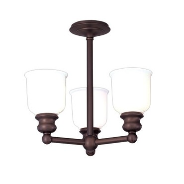 Riverton Semi Flush by Hudson Valley Lighting | 2313F-OB
