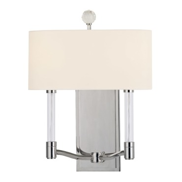 Waterloo Wall Sconce by Hudson Valley Lighting | 3002-PN