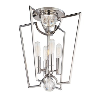 Waterloo Semi Flush by Hudson Valley Lighting | 3004-PN