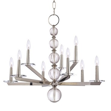 Ashley Chandelier by Hudson Valley Lighting | 319-PN