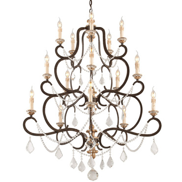 Bordeaux Chandelier by Troy Lighting | F3517