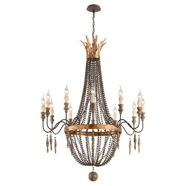 Delacroix Chandelier by Troy Lighting | F3537
