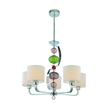 Fizz Chandelier by Troy Lighting | F2865PN