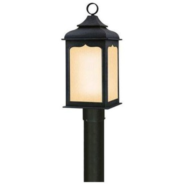 Henery Street Outdoor CFL Post Light